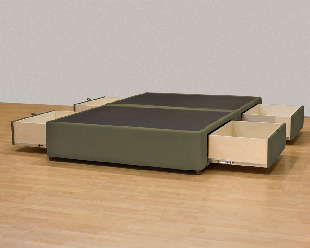 plans to build platform bed with drawers | New Woodworking Style
