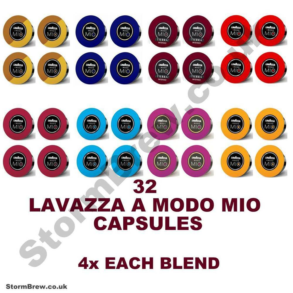 4x lavazza a modo mio variety selection taster starter pack coffee capsule p. Black Bedroom Furniture Sets. Home Design Ideas