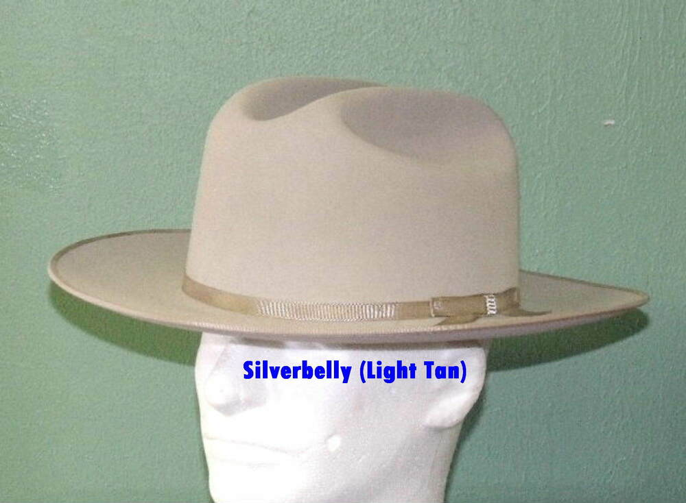 STETSON 6X OPEN ROAD CLASSIC RANCHER STYLE WESTERN HAT