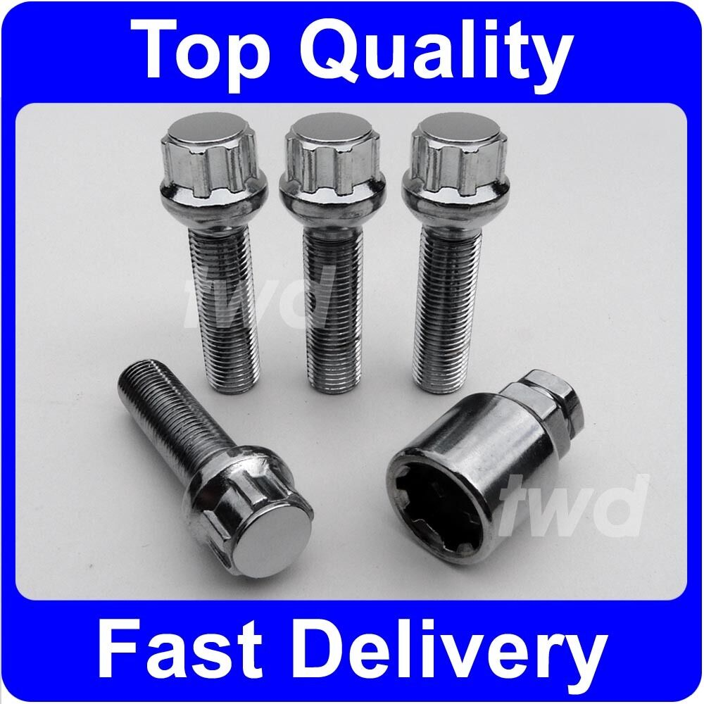 Alloy wheel lock bolts for mercedes benz s class w221 Mercedes benz wheel nuts