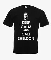 KEEP CALM AND CALL SHELDON (THE BIG BANG THEORY) various colours available