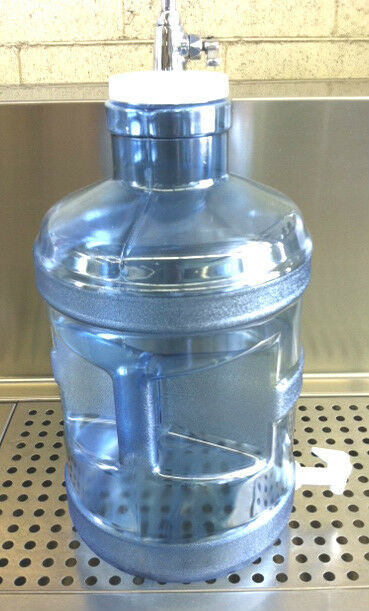 5 Gal Gallon Polycarbonate Wide Mouth Plastic Water Bottle