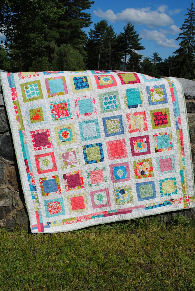 Easy Quilt Pattern Layer Cake Or Fat Quarter Friendly