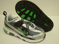 NEW Infant Toddler Sz 4 C NIKE T-Run 2 Alt Grey Green Sneakers Shoes NO LID