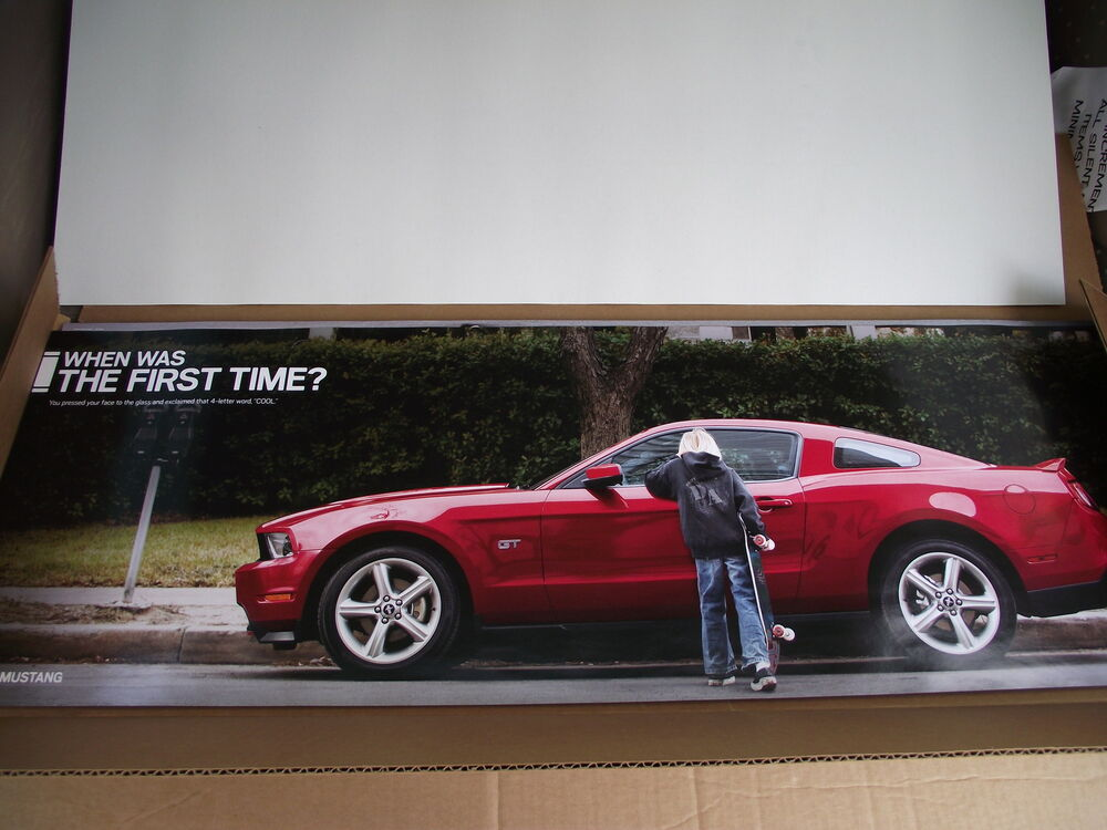Ford Racing Dealer Poster 2010 Quot Cool Quot Mustang Poster
