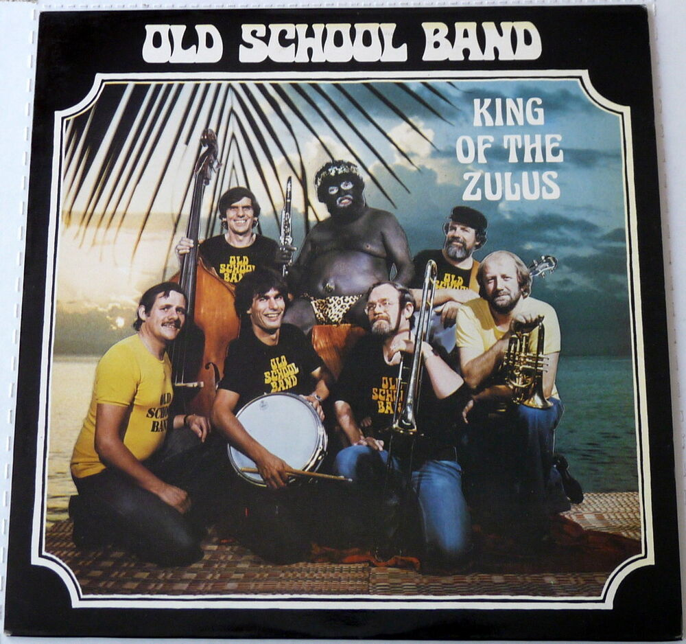 old school band - king of the zulus - vinyl lp - 1981