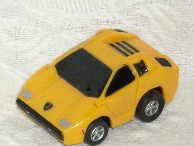 Wow Awesome Lamborghini Countach Lp400 Yellow Toy Car