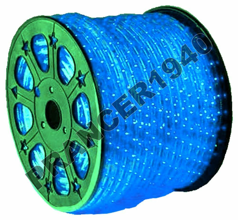 12 volt dc blue new led rope lights home lighting ebay. Black Bedroom Furniture Sets. Home Design Ideas