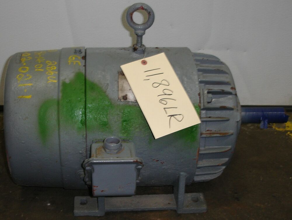 Sls1b12 general electric ac induction electric motor 20 for 1 2 hp induction motor