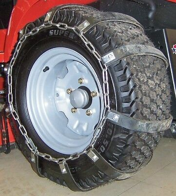 Rubber Tire Chains Garden Lawn Tractor Ebay