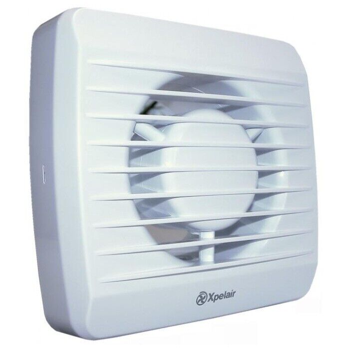 Xpelair LV100T Toilet/Bathroom Low Voltage Extractor Fan With Timer- 90847AW