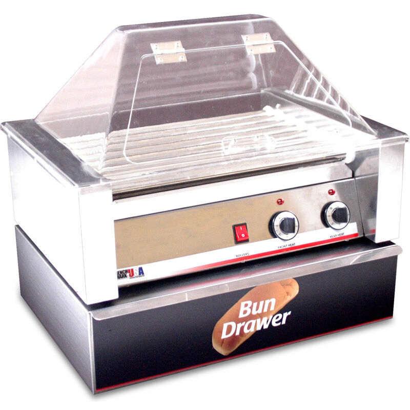 Hot Dog Roller Grill Cooker