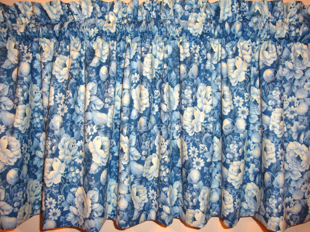 Image Result For Blue And White Toile Curtain Panels