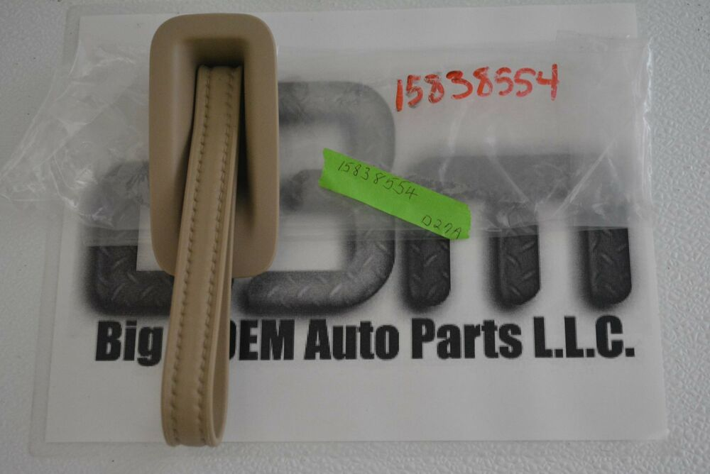 Chevrolet Tahoe Suburban Gmc Yukon Liftgate Cashmere Assist Pull Strap New Oem