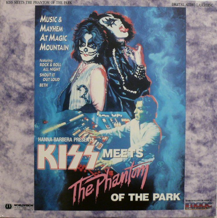 Kiss meets the phantom of the park  википедия