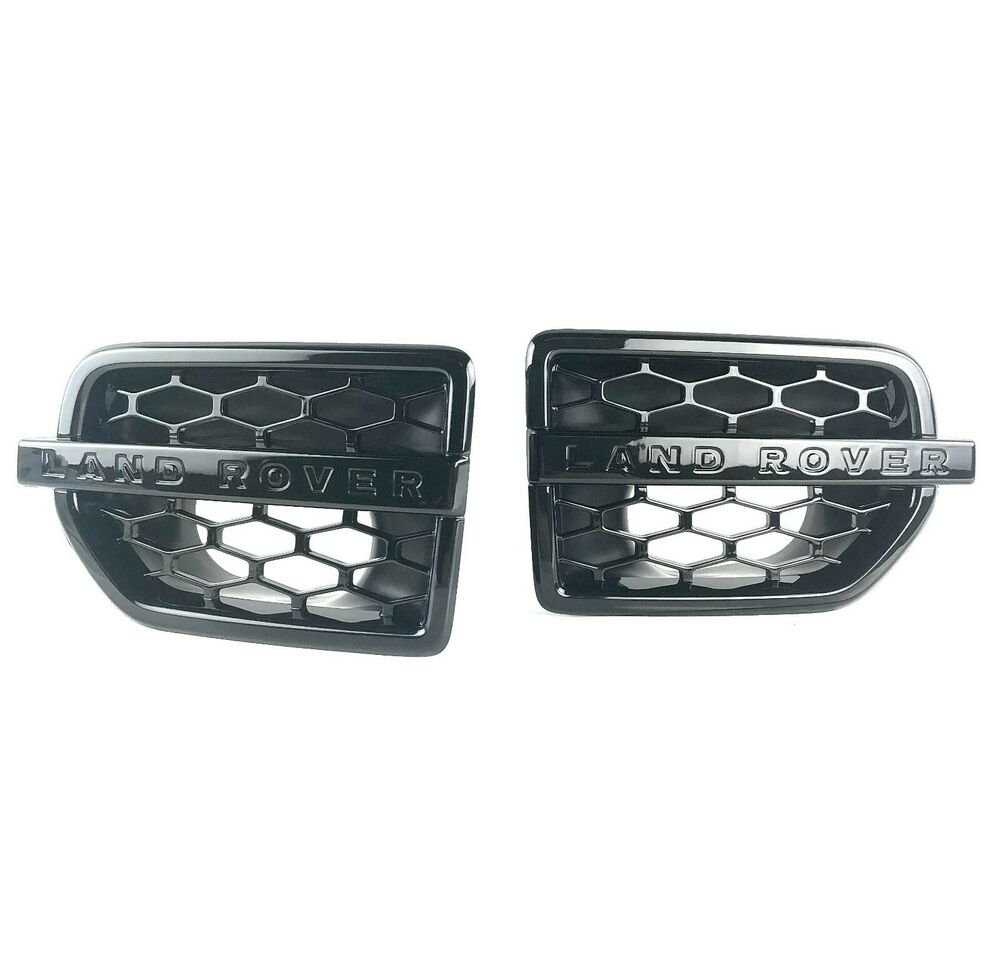 Land Rover Lr4 Side Grille Air Intake Fender Vents In
