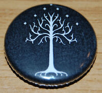 """TREE OF GONDOR"" 25MM BUTTON BADGE LORD OF THE RINGS HOBBIT JRR TOLKIEN"