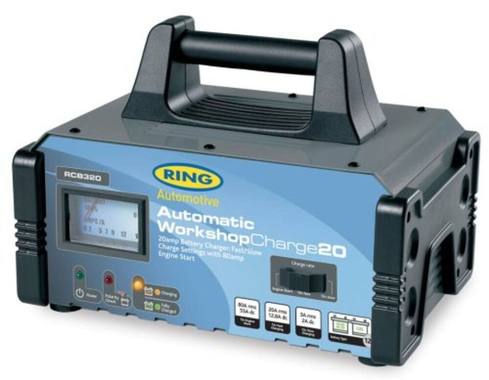 Auto Battery Charger : Ring automotive rcb fully automatic workshop battery