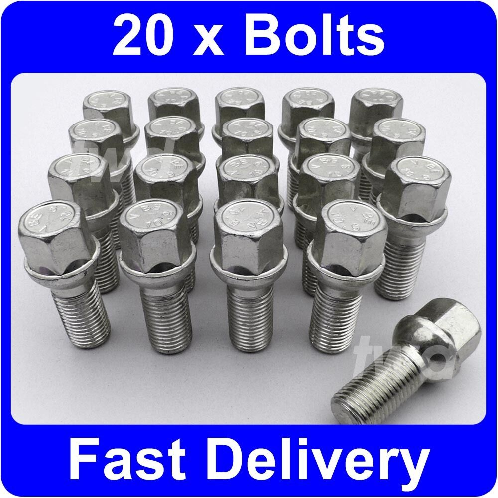 20 x alloy wheel bolts for mercedes benz a class 2004 Mercedes benz wheel nuts