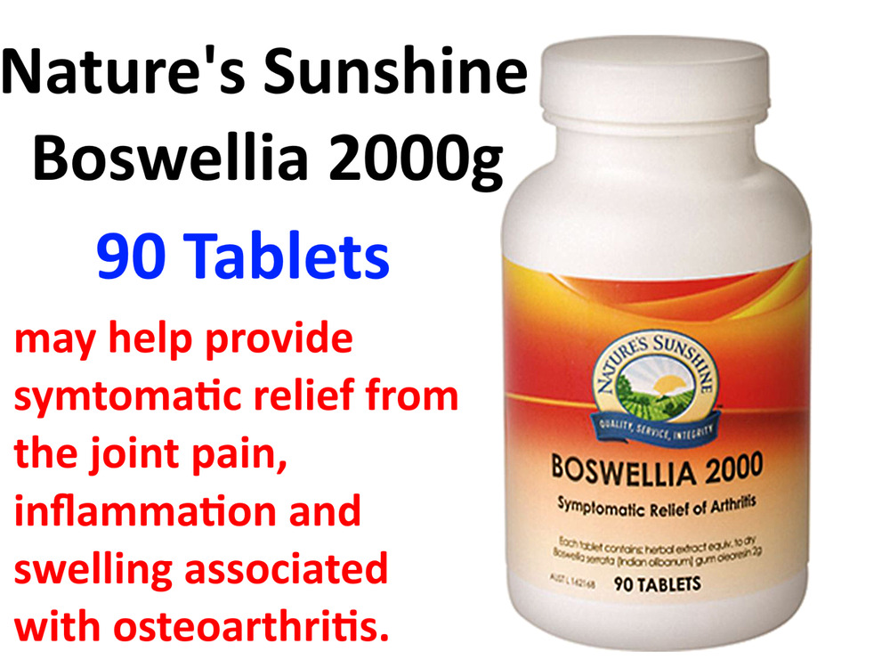 sunshine frankincense natures indian tablets boswellia nature 2000mg