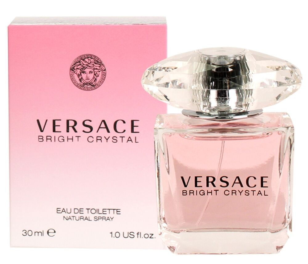 versace bright crystal for women eau de toilette spray 1. Black Bedroom Furniture Sets. Home Design Ideas