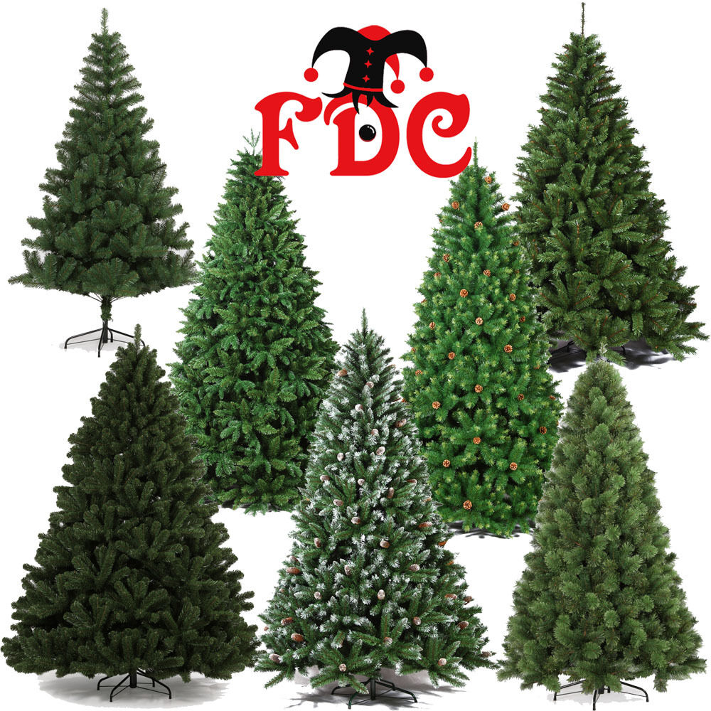 Luxurious Christmas Trees: Artificial Luxury Christmas Xmas Trees Assorted Styles 1