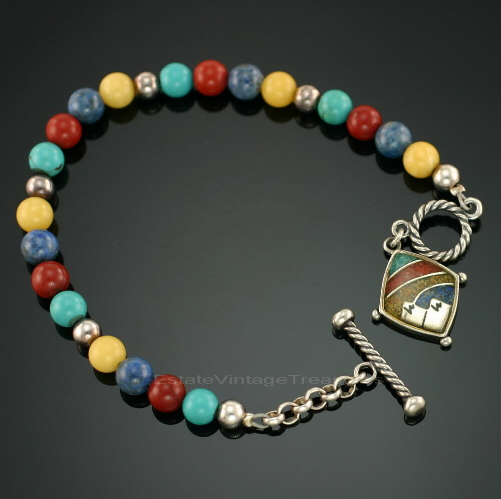 Relios Sincerely Southwest Multi Gemstone Beaded Sterling. White Band Watches. Heart Bangle. Puzzle Necklace. Black Stone Wedding Rings. Diamond Heart Anklet. Thin Wedding Rings. Womens Ankle Bracelets. Floral Rings