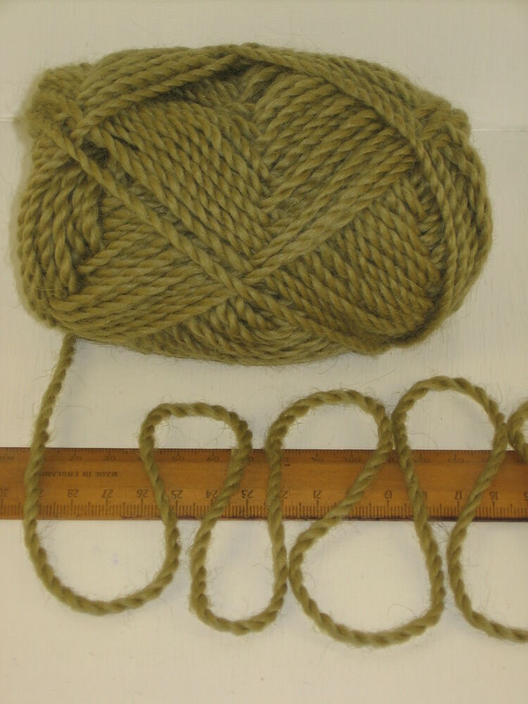 Knitting Joining Yarn Felting : G ball moss green pure merino knitting wool chunky