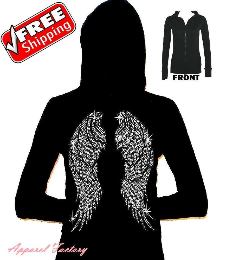 Hoodie with wings