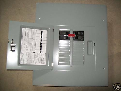 Ge 60 60a Generator Transfer Switch 20 Circuit Breaker Box