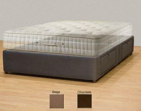 Tiffany 4 Drawer Queen Platform Bed Storage Mattress Box On Sale Designer Ebay