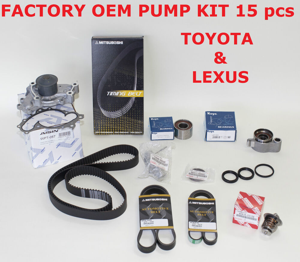 Toyota Camry Timing Belt Replacement: TOYOTA LEXUS ES300 ES330 CAMRY V6 COMPLETE OEM TIMING BELT