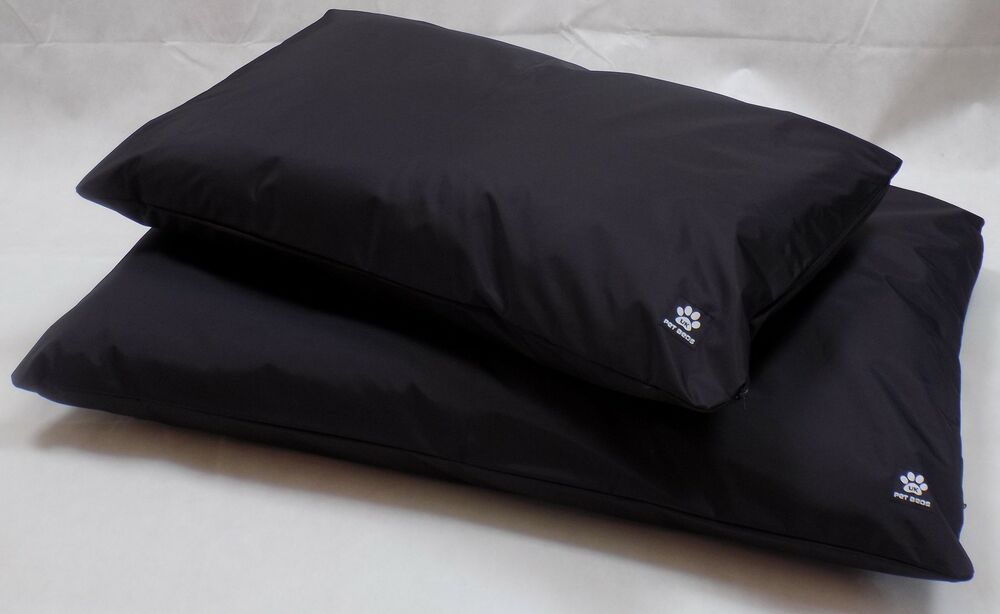 """Heavy Duty Large Black Waterproof Dog Bed COVER ONLY """"Easy"""