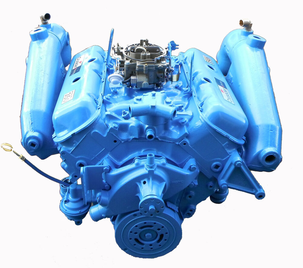 Crusader 454    7 4 L Gm Marine Engine 350 Hp Repower