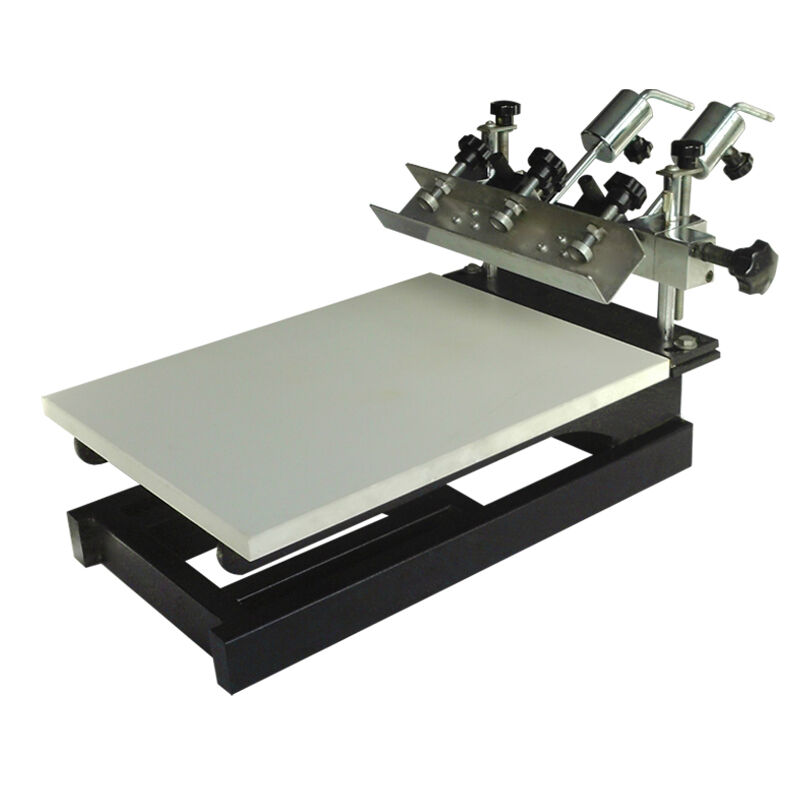 Screen printing 1 color minitrim printer with 3 pallets for Single shirt screen printing