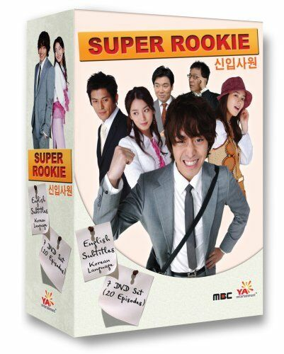 Korean TV Drama Super Rookie Box Set DVD YA Entertainment