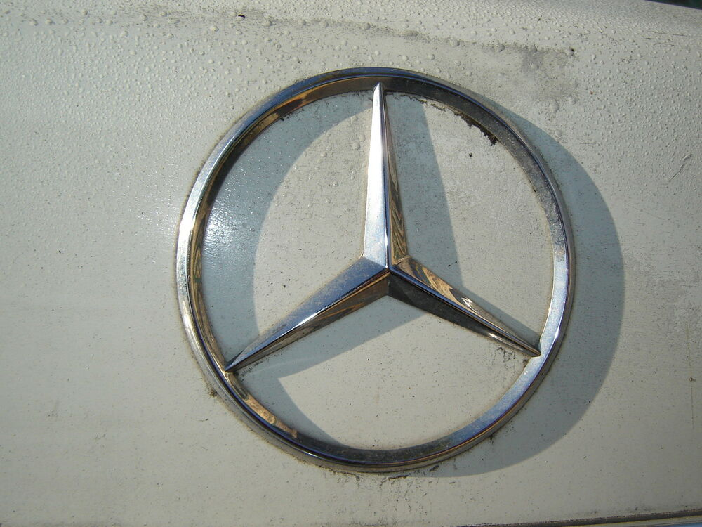 1984 mercedes benz 126 body used parts trunk star ebay for Mercedes benz used body parts