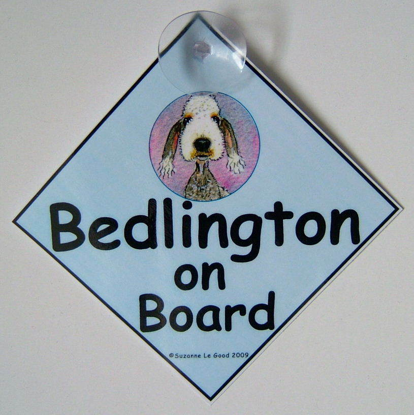 Personalised Dog On Board Signs