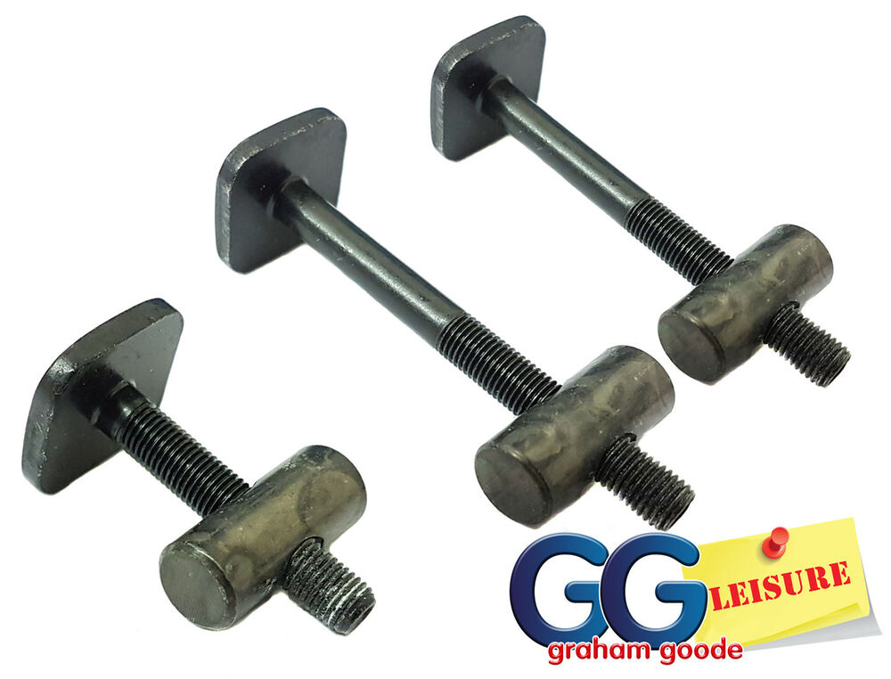 Thule 591 Pro Ride Cycle Carrier T Track Bolts Complete