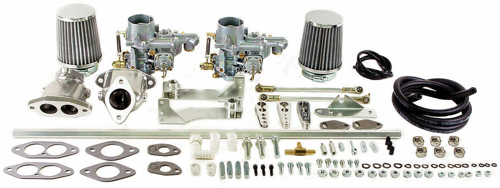 Empi Vw Beetle Dual Epc 34 Carb Kit Dual Port 47