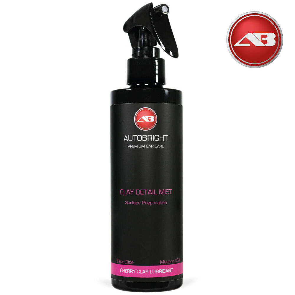 autobright clay mist detailing spray lubricant for clay bar car cleaning 250ml ebay. Black Bedroom Furniture Sets. Home Design Ideas