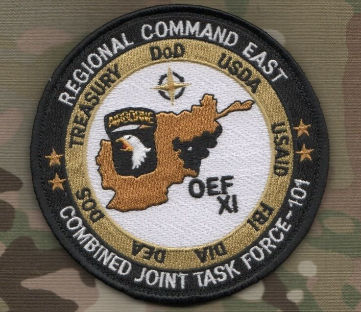 USA Element Headquarters ISAF Joint Command MultiCam/OCP Patch