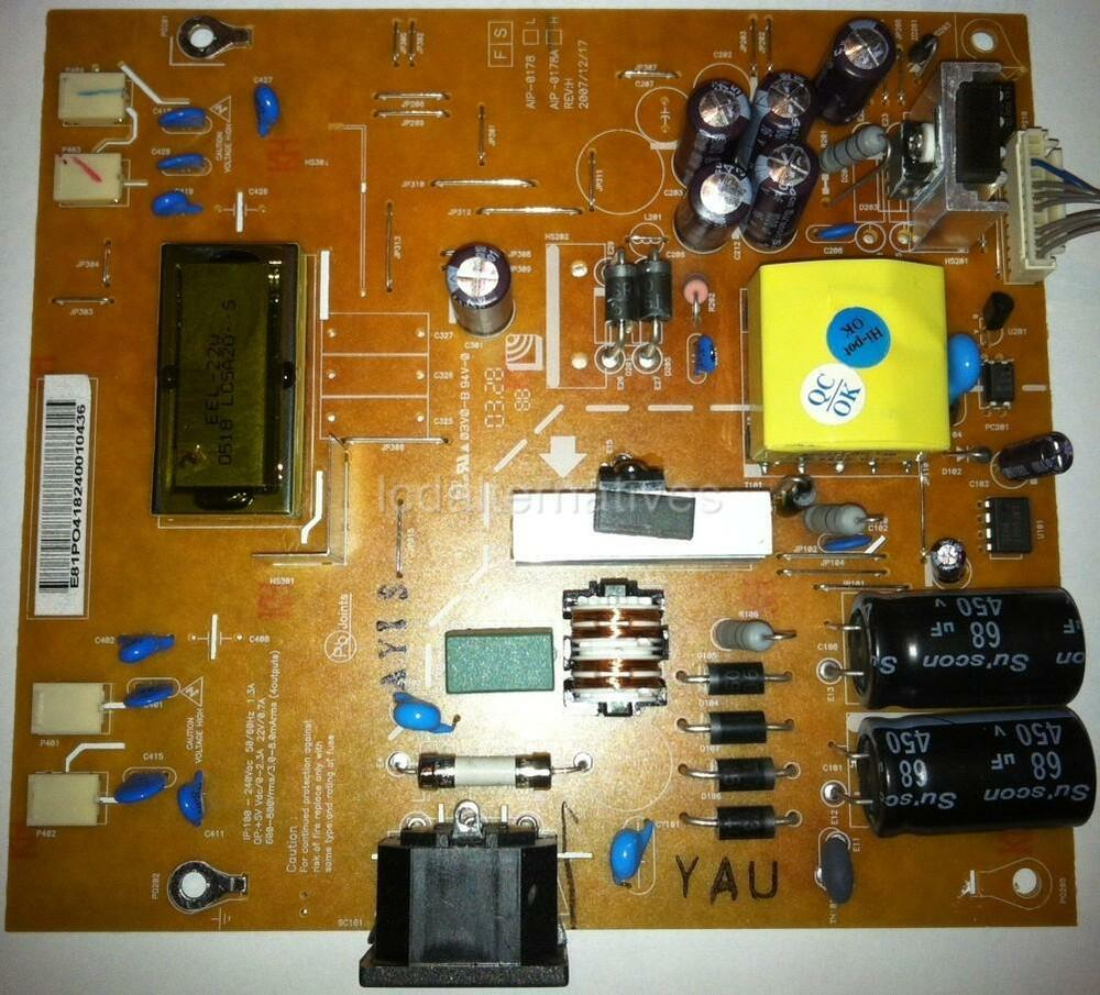 lg w2252tq lcd monitor repair kit capacitors only not entire board ebay. Black Bedroom Furniture Sets. Home Design Ideas