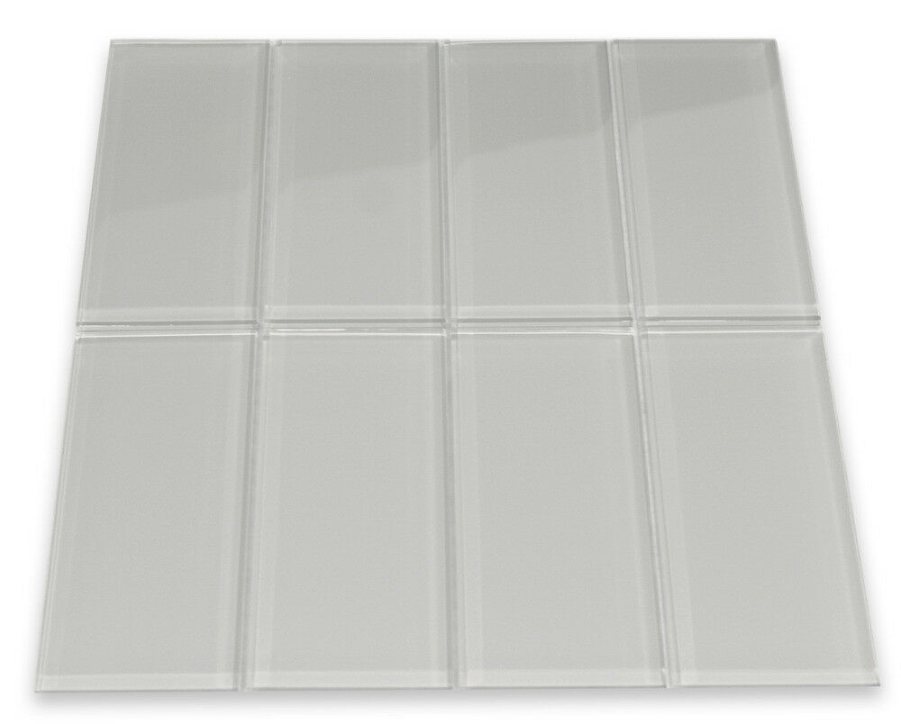 Smoke Glass Subway Tile 3x6 for Backsplashes Showers