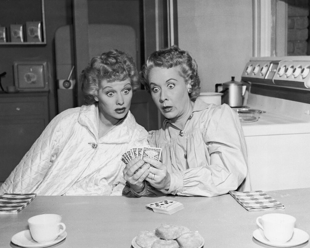 i love lucy lucille ball amp vivian vance 8 x 10 glossy