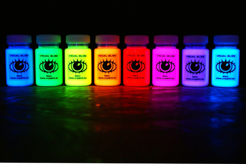 Glow In The Dark Fluorescent Paint For Walls