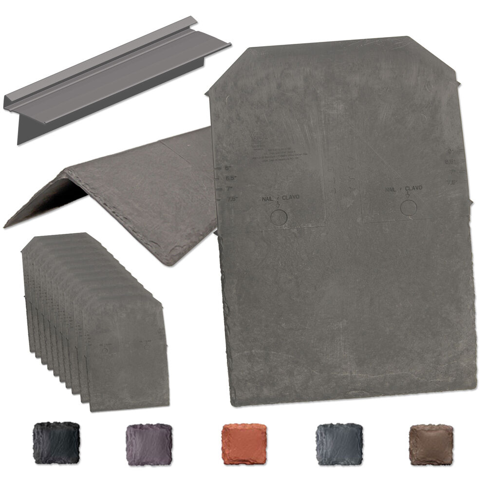 Tapco synthetic slate shingle tile lightweight strong for Synthetic roofing materials