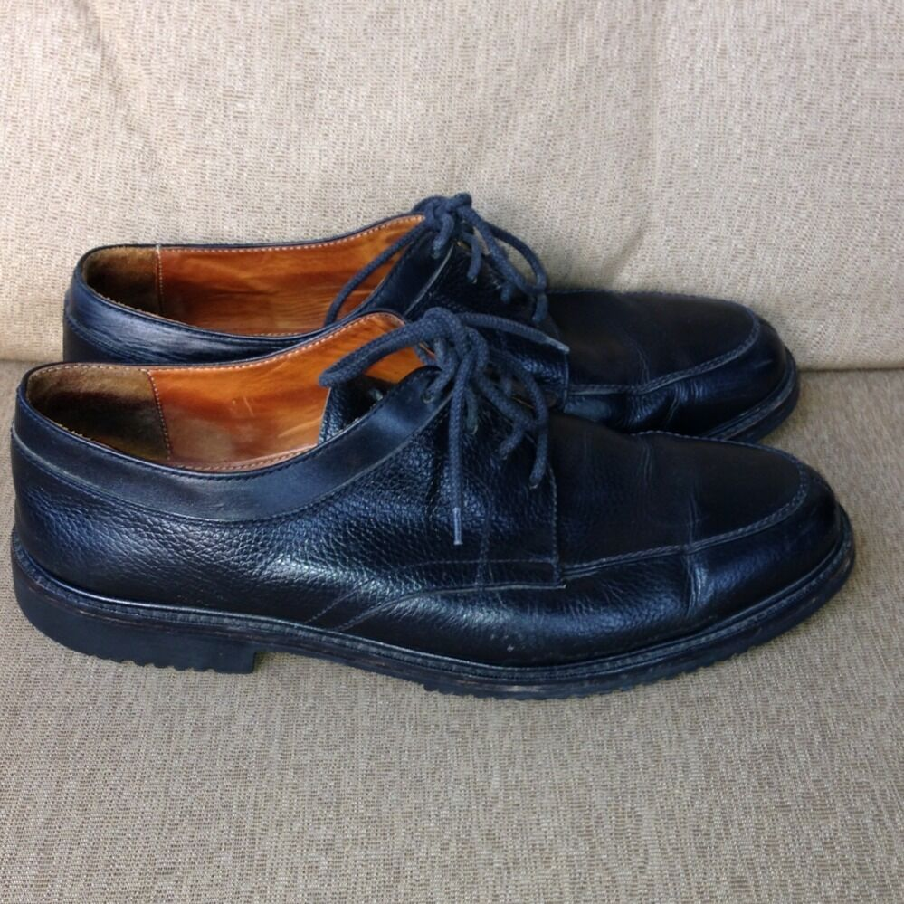 cole haan mens shoes size 12 black leather ebay