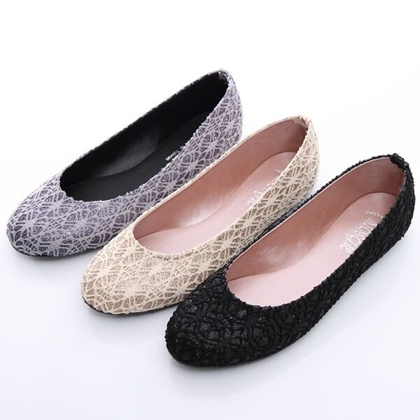wedding ballet flats ballerina loafers shoes gray beige gold black