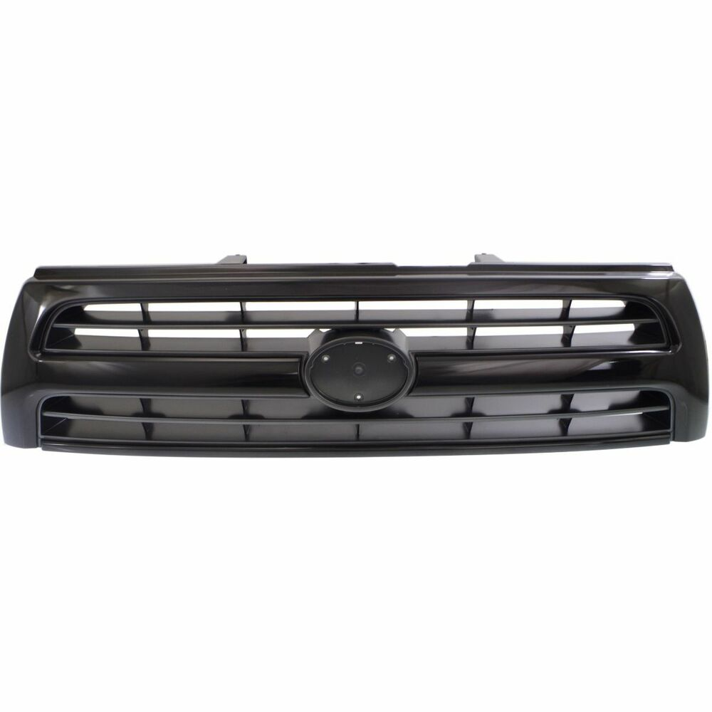 Grille For 99 2000 Toyota 4runner Black Shell W Silver